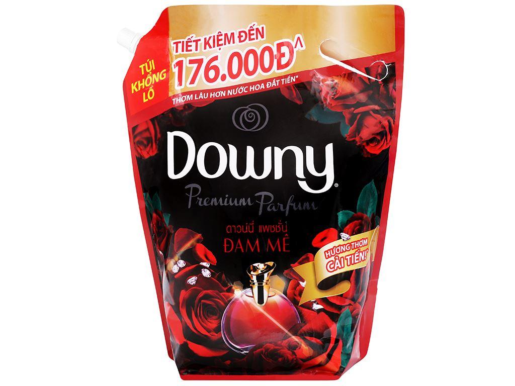 Nước xả vải Downy Premium Parfum đam mê túi 3 lít 1