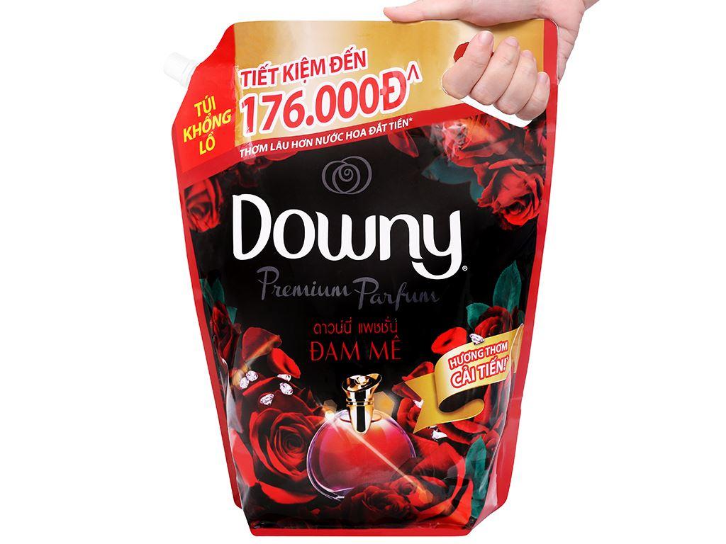 Nước xả vải Downy Premium Parfum đam mê túi 3 lít 4