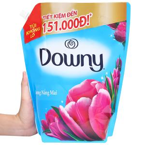 Nước xả vải Downy hương nắng mai túi 3 lít