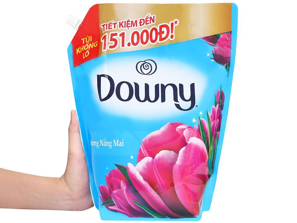 Nước xả vải Downy hương nắng mai túi 3 lít 4