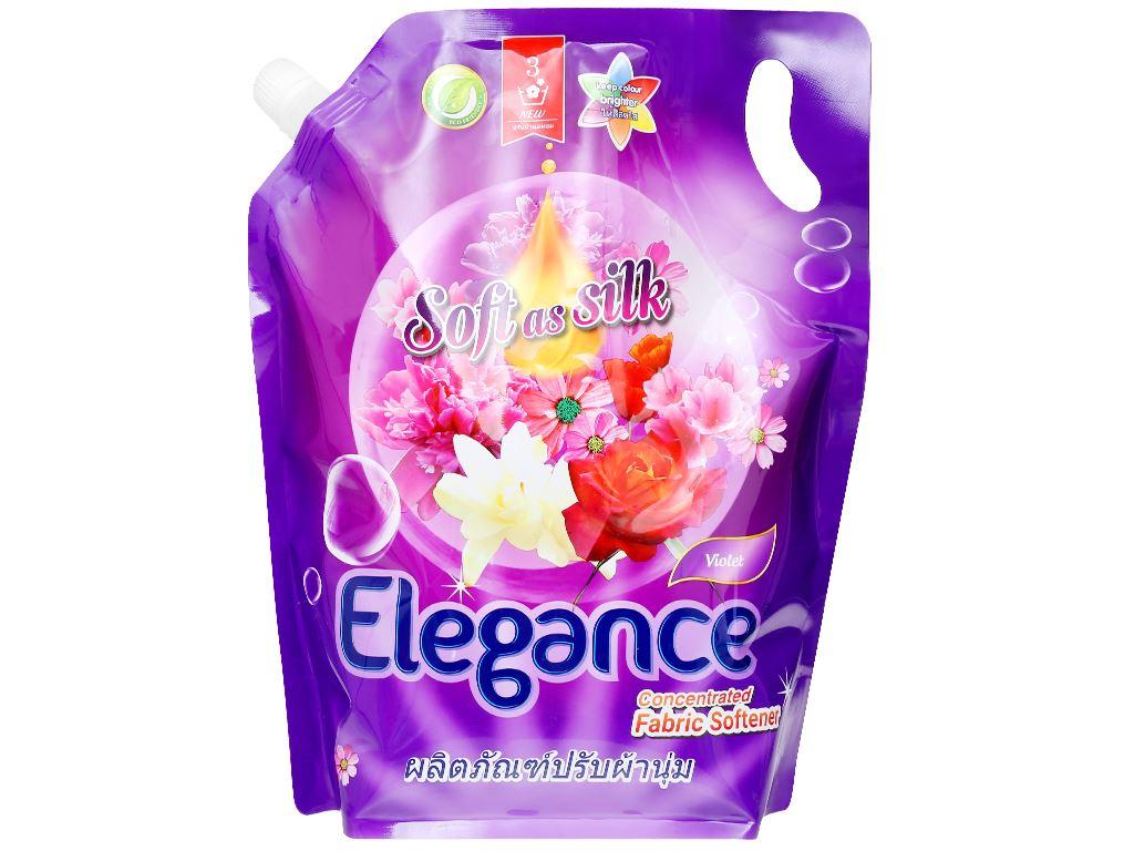 Nước xả vải Elegance Violet tím ngọt ngào túi 1.8 lít 1