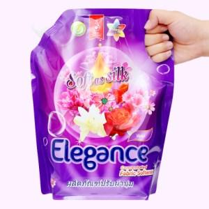 Nước xả vải Elegance Violet tím ngọt ngào túi 1.8 lít
