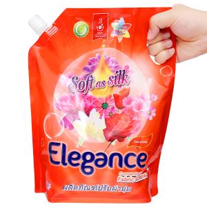 Nước xả vải Elegance Red aroma đỏ đam mê túi 1.8 lít