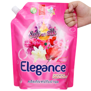 Nước xả vải Elegance Pink Sweet hồng quyến rũ túi 1.8 lít
