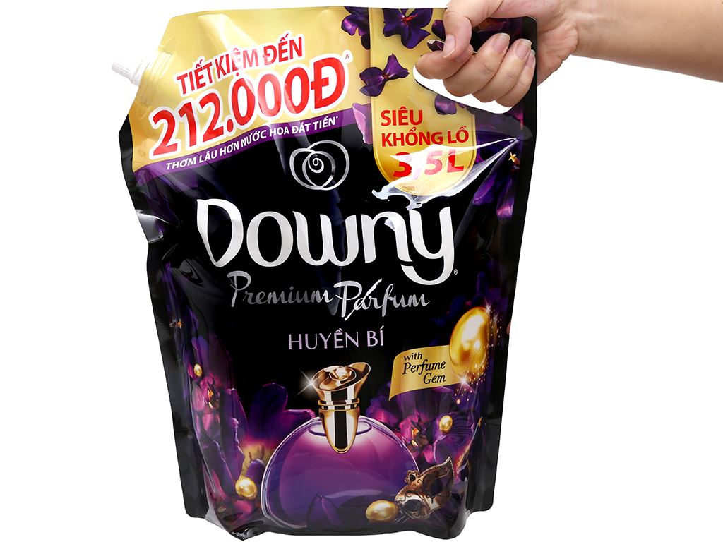 Nước xả vải Downy Premium Parfum huyền bí túi 3.5 lít 6