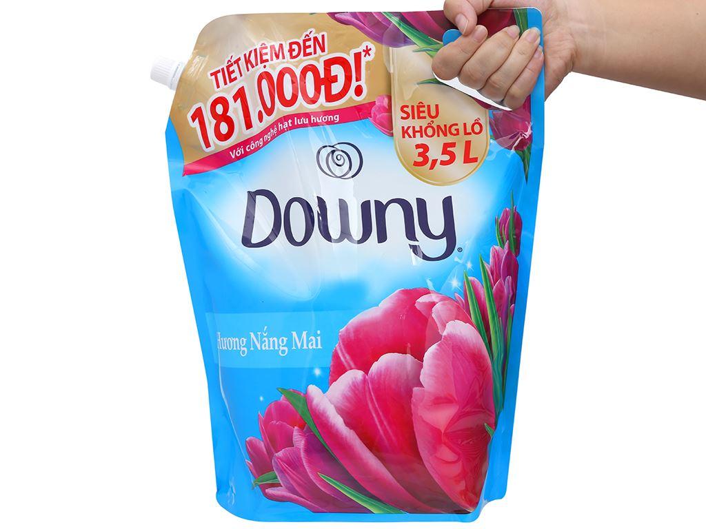Nước xả vải Downy hương nắng mai túi 3.5 lít 5