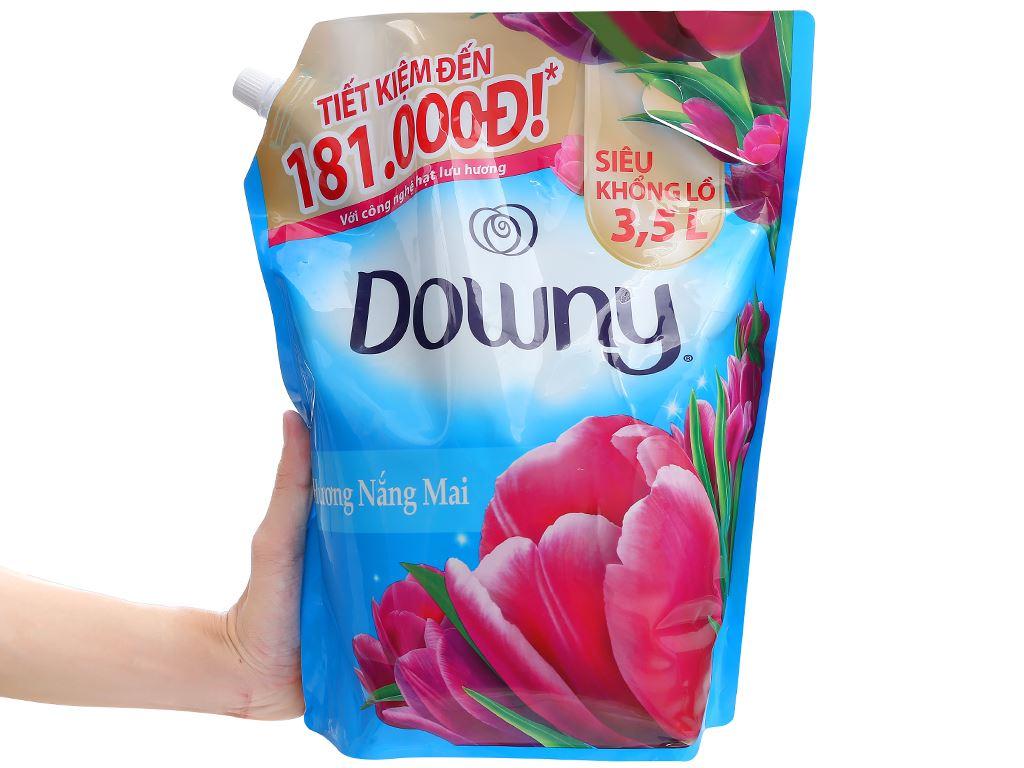 Nước xả vải Downy hương nắng mai túi 3.5 lít 6