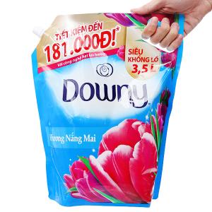 Nước xả vải Downy hương nắng mai túi 3.5 lít