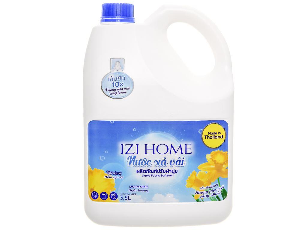 Nước xả vải IZI HOME hương sớm mai can 3.8 lít 1