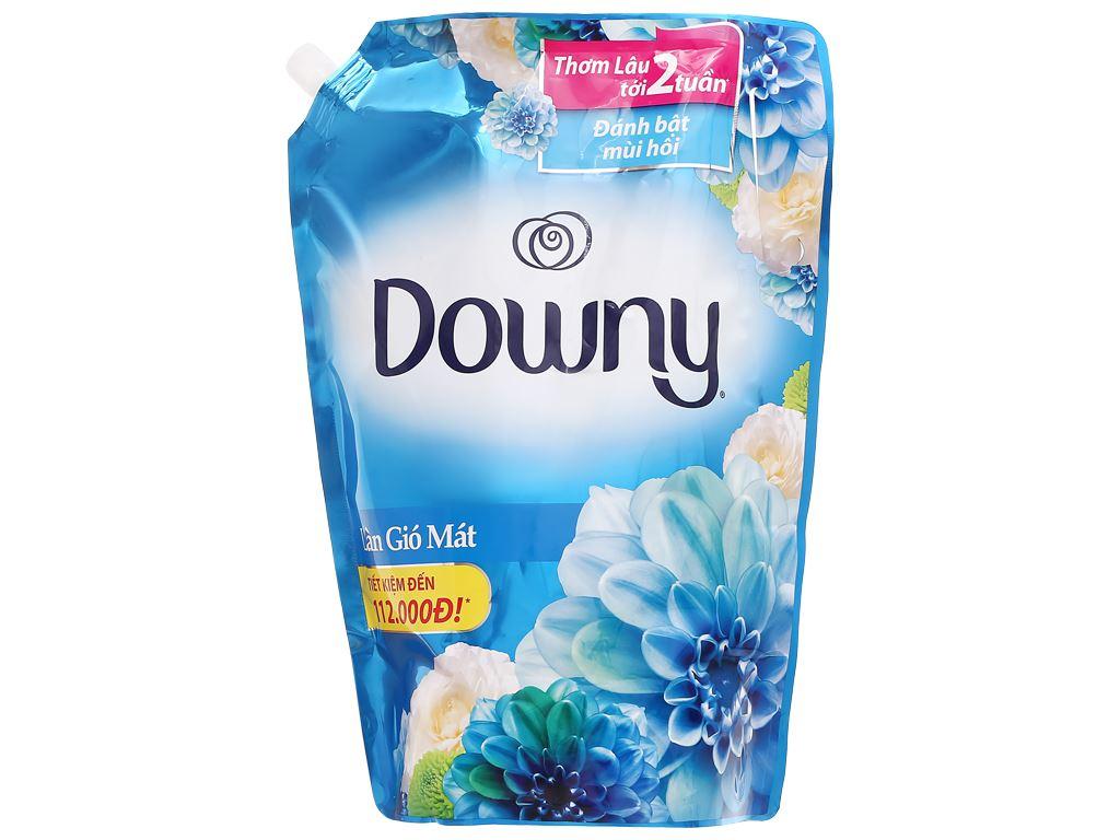 Nước xả vải Downy làn gió mát túi 2.4 kg 1