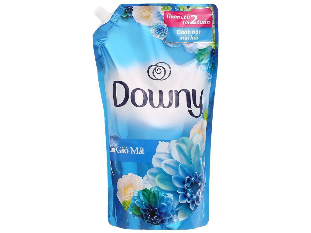 Nước xả vải Downy làn gió mát túi 1.6 lít 1