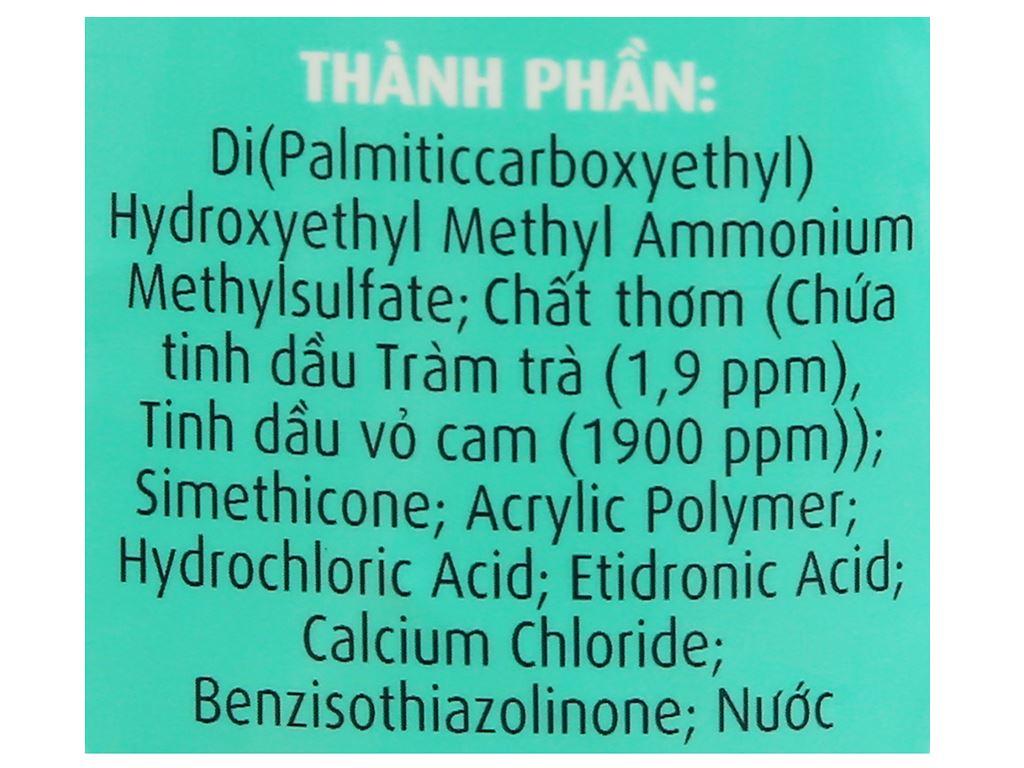 Nước xả vải Comfort kháng khuẩn dịu nhẹ túi 1.5 lít 4