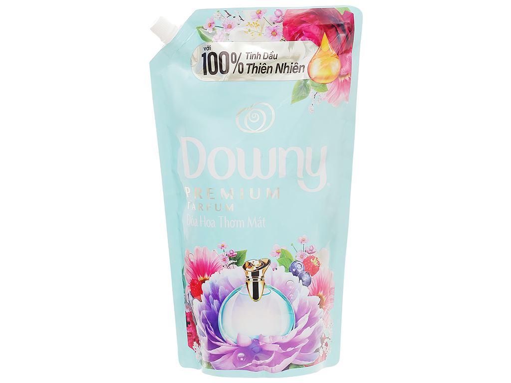 Nước xả vải Downy đóa hoa thơm ngát túi 1.4 lít 1