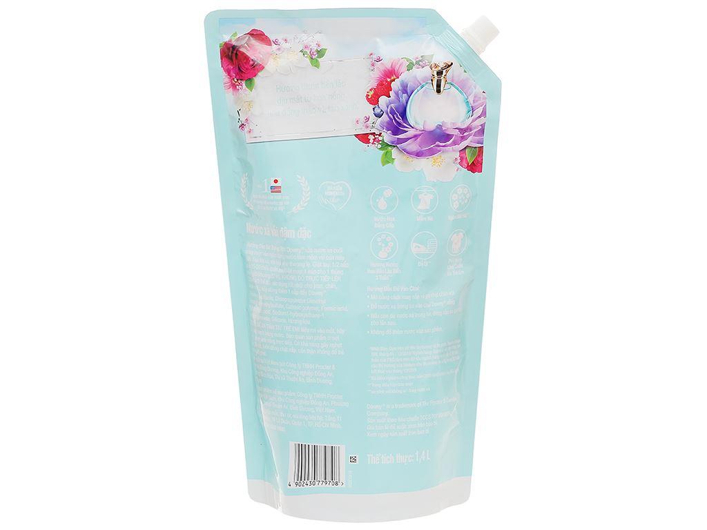 Nước xả vải Downy đóa hoa thơm ngát túi 1.4 lít 2