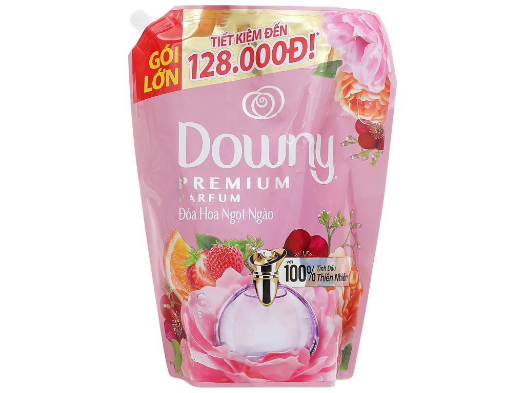 Nước xả vải Downy đóa hoa ngọt ngào túi 2.3 lít 1