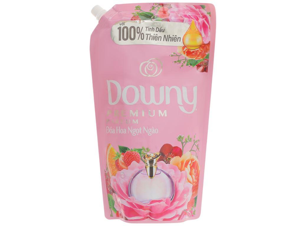 Nước xả vải Downy đóa hoa ngọt ngào túi 1.4 lít 1