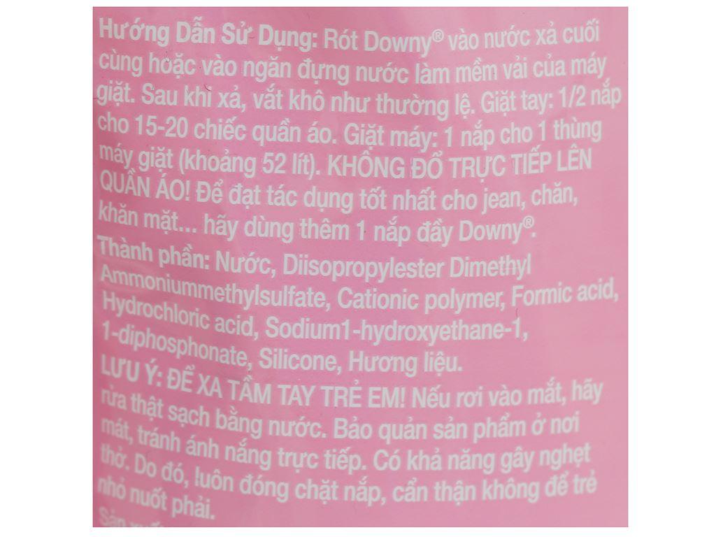Nước xả vải Downy đóa hoa ngọt ngào túi 1.4 lít 3