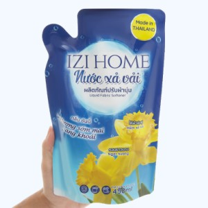 Nước xả vải IZI HOME hương sớm mai túi 450ml