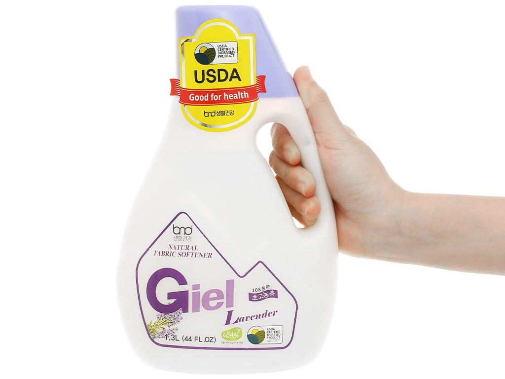 Nước xả hữu cơ sinh học Giel hương lavender chai 1.3 lít 4