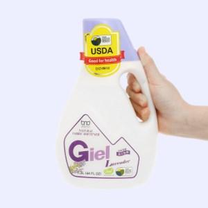 Nước xả hữu cơ sinh học Giel hương lavender chai 1.3 lít
