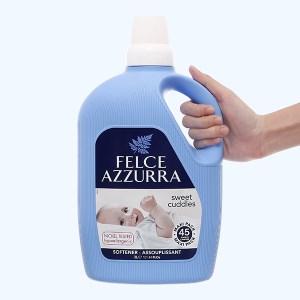 Nước xả vải đậm đặc nước hoa Felce Azzurra sweet cuddles chai 3 lít