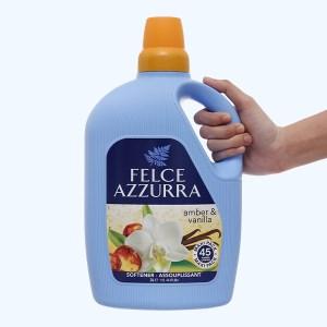 Nước xả vải đậm đặc nước hoa Felce Azzurra hương Amber & Vanilla chai 3 lít