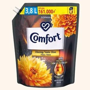 Nước xả vải Comfort hương nước hoa thiên nhiên sophia túi 3.2 lít