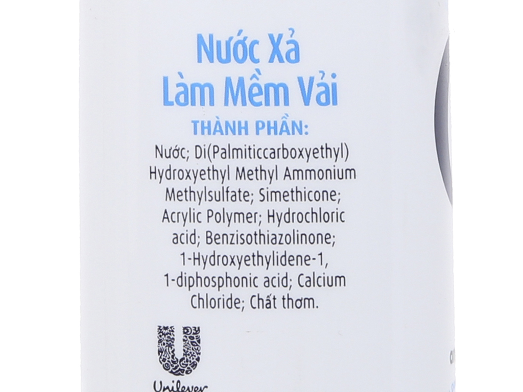 Nước xả vải Comfort cho da nhạy cảm hương phấn chai 800ml 4