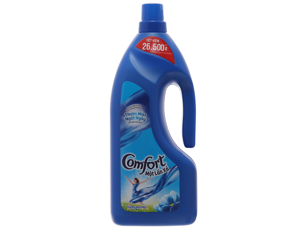 Nước xả vải Comfort một lần xả hương ban mai chai 1.8 lít 2