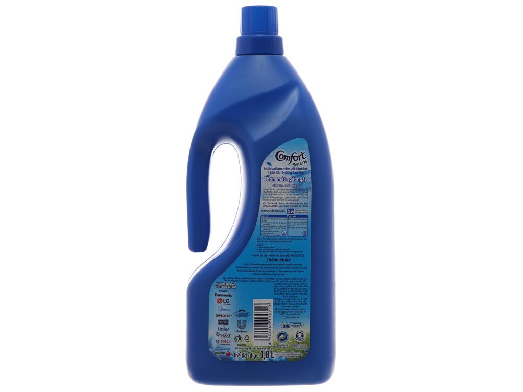 Nước xả vải Comfort một lần xả hương ban mai chai 1.8 lít 3