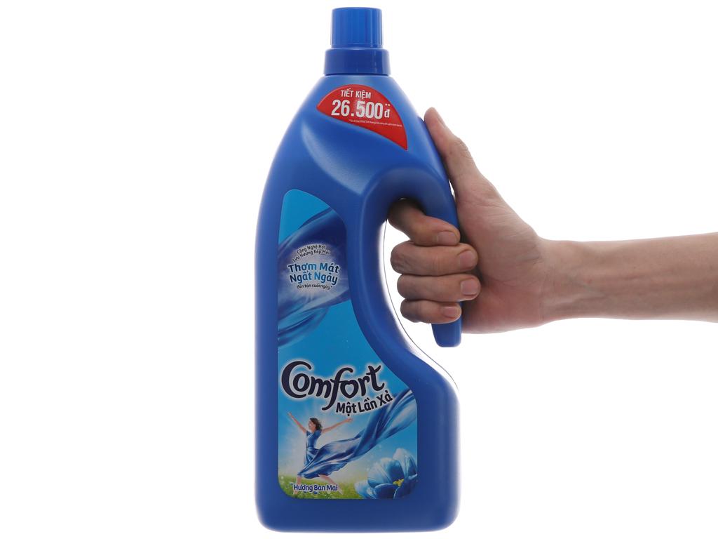 Nước xả vải Comfort một lần xả hương ban mai chai 1.8 lít 5
