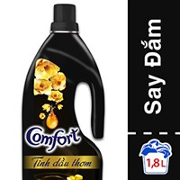 Nước xả Comfort Tinh dầu thơm Say đắm chai 1.8 lít