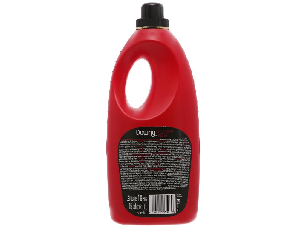 Nước xả vải Downy Parfum Collection đam mê chai 1.8 lít 3