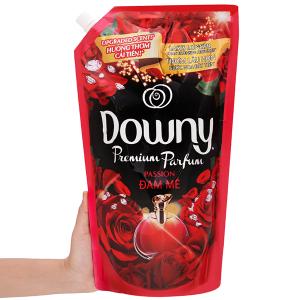 Nước xả vải Downy Premium Parfum đam mê túi 1.4 lít