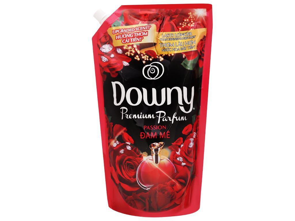Nước xả vải Downy Premium Parfum đam mê túi 1.4 lít 1