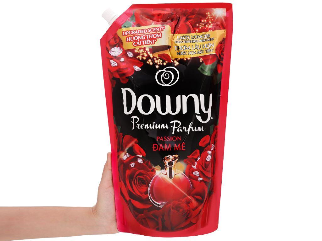 Nước xả vải Downy Premium Parfum đam mê túi 1.4 lít 5