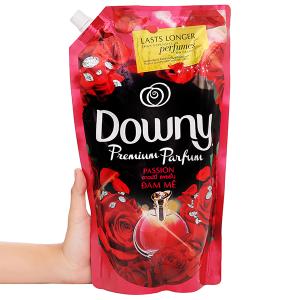 Nước xả vải Downy Premium Parfum đam mê túi 1.5 lít