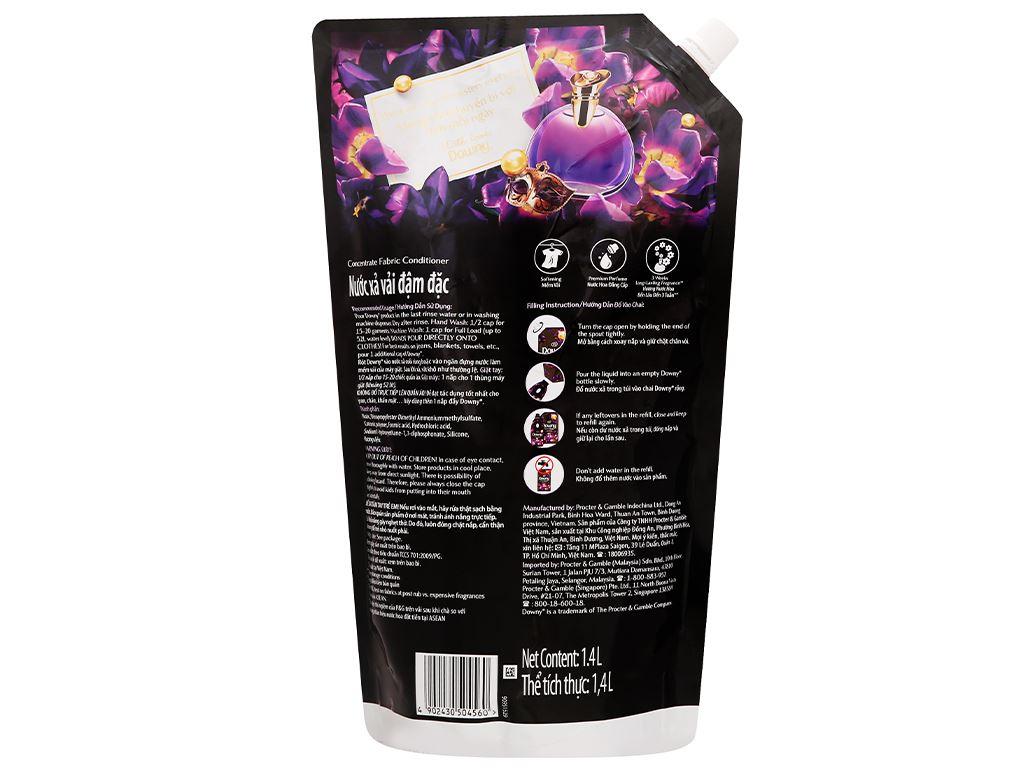 Nước xả vải Downy Parfum Collection huyền bí túi 1.4 lít 2