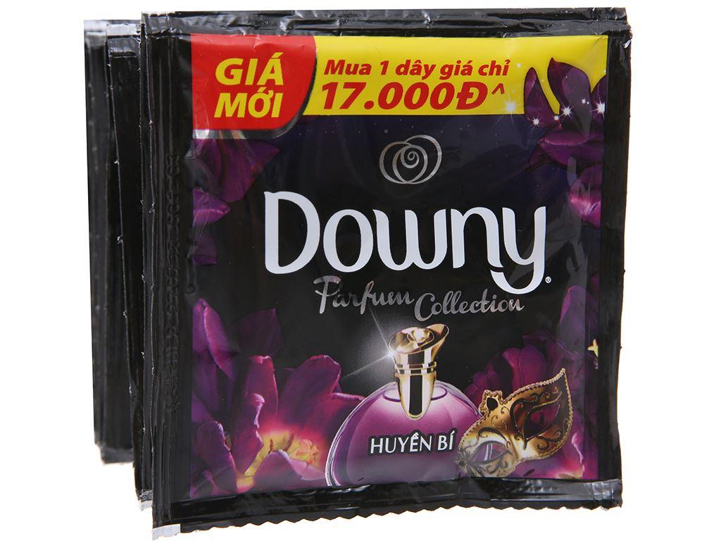 9 gói nước xả vải Downy Parfum Collection huyền bí 20ml 4