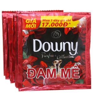 9 gói nước xả vải Downy Parfum Collection đam mê 20ml