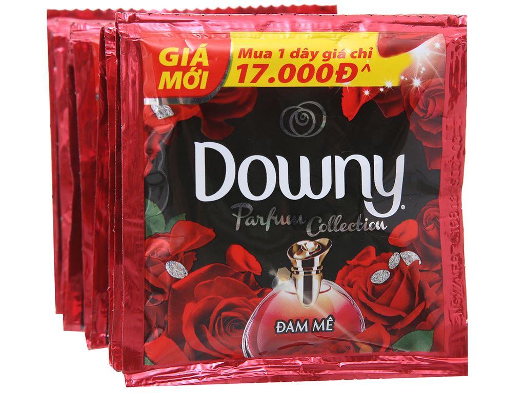 9 gói nước xả vải Downy Parfum Collection đam mê 20ml 2