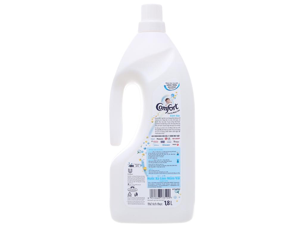Nước xả vải Comfort cho da nhạy cảm hương phấn chai 1.8L 2