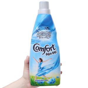 Nước xả vải Comfort đậm đặc hương ban mai chai 800ml