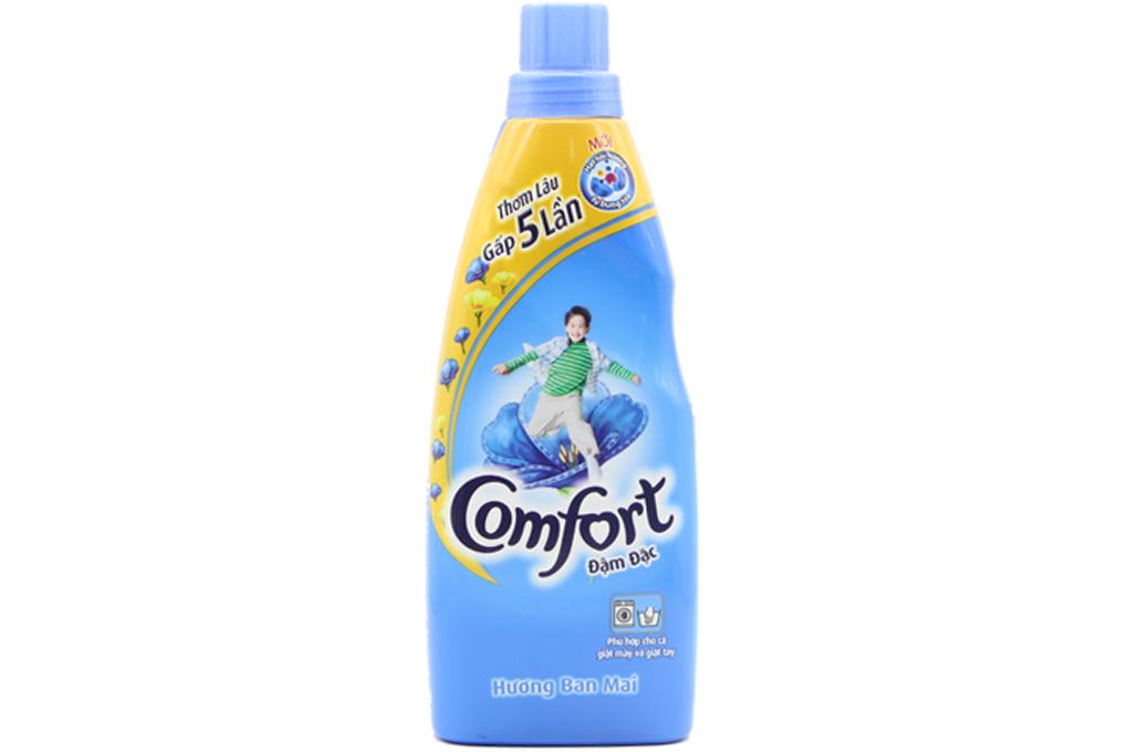 Nước xả Comfort đậm đặc hương ban mai chai 800ml