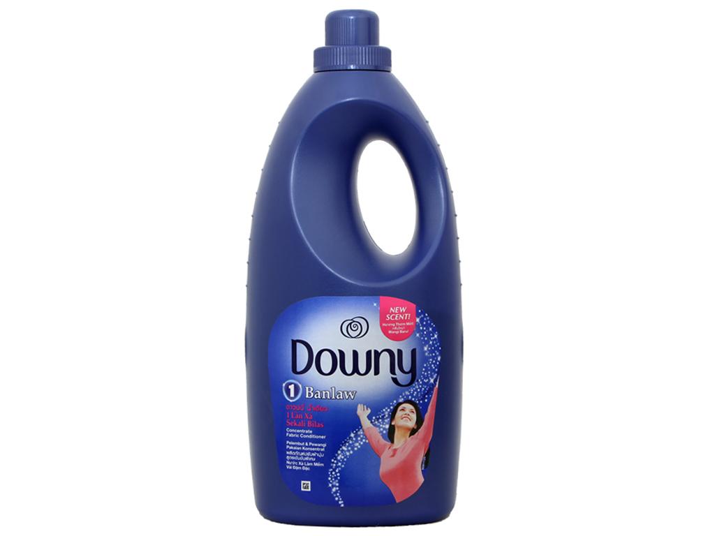 Nước xả vải Downy một lần xả một lần xả chai 1.8 lít 1