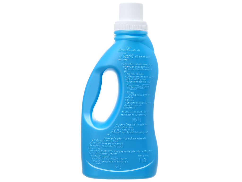 Nước xả vải cho bé Netsoft hương biển xanh chai 1L 3