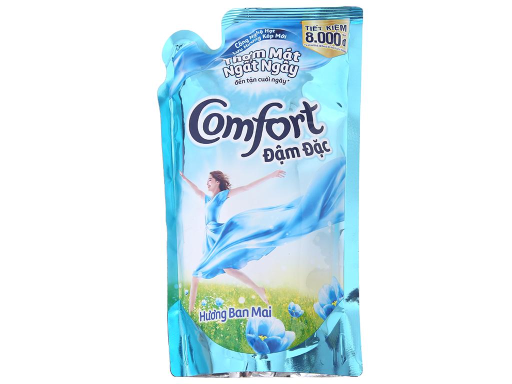 Nước xả vải Comfort hương ban mai túi 800ml 2