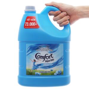 Nước xả vải Comfort đậm đặc hương ban mai can 3.8 lít