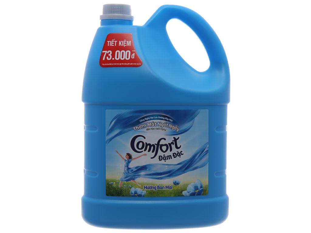 Nước xả vải Comfort hương ban mai can 3.8L 2