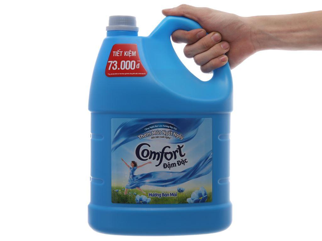 Nước xả vải Comfort hương ban mai can 3.8 lít 5